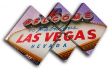 Las Vagas sign Purple Landmarks - 13-0042(00B)-MP19-LO